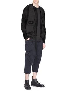 The Viridi-anne Cropped poplin jogging pants