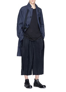 The Viridi-anne Pleated cupro wide leg pants