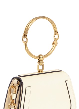 Detail View - Click To Enlarge - Chloé - 'Nile' small bracelet handle crossbody bag