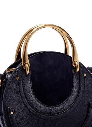 - Chloé - 'Pixie' small bracelet handle round crossbody bag