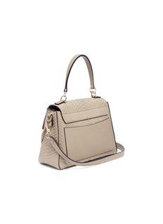 Chloé 'Faye' medium python leather shoulder bag