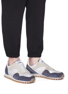Spalwart 'Marathon Trail Low' suede panel mesh sneakers