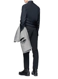 McQ Alexander McQueen 'Bondage Shields' belted shirt