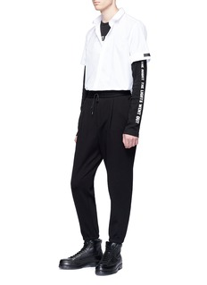 McQ Alexander McQueen Slim fit cropped sweatpants