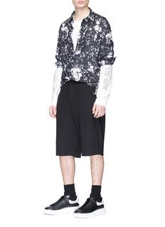 McQ Alexander McQueen Floral print shirt