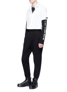 McQ Alexander McQueen 'Velvet Glove' print long sleeve T-shirt