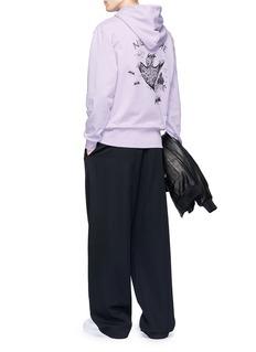McQ Alexander McQueen 'Living Nightmare' print hoodie