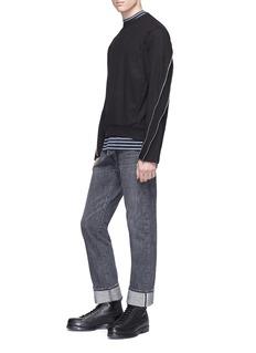 McQ Alexander McQueen Zip sleeve sweatshirt