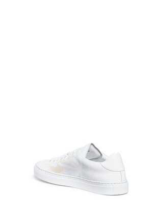 Detail View - Click To Enlarge - Joshua Sanders - 'Sunset Pony' print leather sneakers