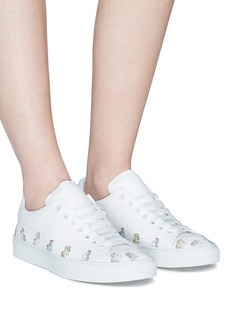 Joshua Sanders 'Simple Pony' print leather sneakers