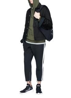 Adidas 'NMD' slogan strap hoodie