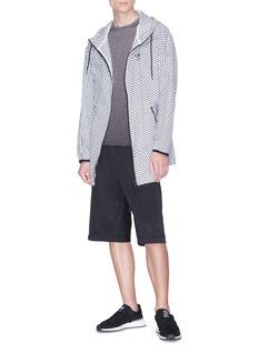 Adidas 'XBYO' reflective print shorts