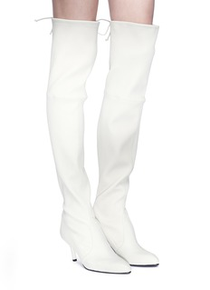 Stuart Weitzman 'Tie Model' stretch leather knee high boots