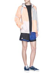 Adidas X Kolor Tape stripe Climachill® performance T-shirt