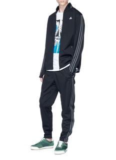 Adidas X Kolor Animal photographic print Climalite® T-shirt