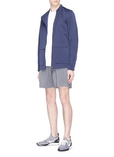 FALKE Asymmetric zip windbreaker jacket