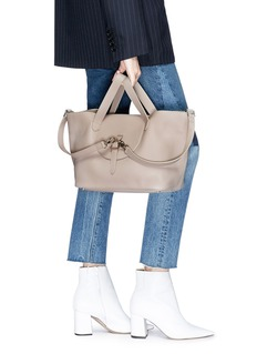 Meli Melo 'Thela' medium leather trapeze tote