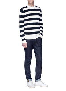 Theory 'Mareen' stripe rib knit sweater