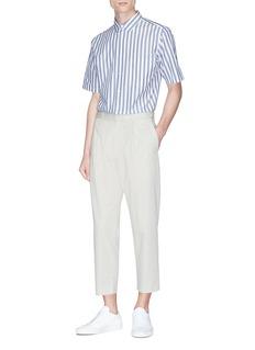 Theory 'Sebastian' cotton-wool poplin pants