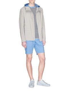Theory 'Zaine' poplin shorts