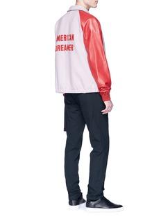 Tim Coppens 'American Dreamer' appliqué virgin wool varsity jacket