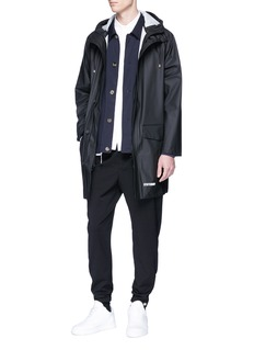 Tim Coppens Virgin wool twill jogging pants
