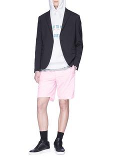 Tim Coppens Detachable label shorts