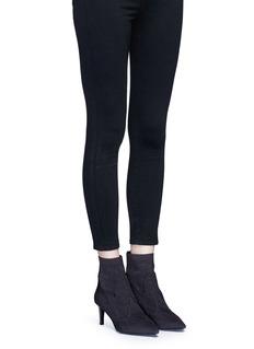 Ash'Dreamer' metallic star jacquard knit boots
