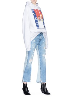 R13 'Keaton' double back jeans