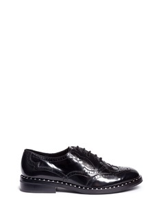 Ash 'Wing' leather brogue Oxfords