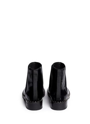 Back View - Click To Enlarge - Ash - 'Winona' stud welt leather Chelsea boots