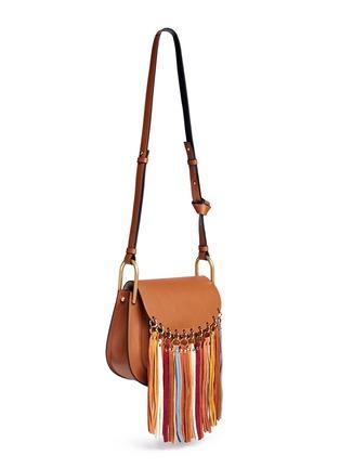 Figure View - Click To Enlarge - Chloé - 'Hudson' small suede fringe leather shoulder bag