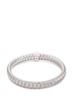 Roberto Coin 'Primavera' diamond 18k white gold bracelet