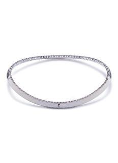 Roberto Coin 'Venetian Princess' diamond 18k white gold necklace