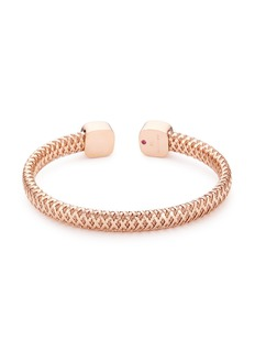 Roberto Coin 'Primavera' mother of pearl 18k rose gold cuff