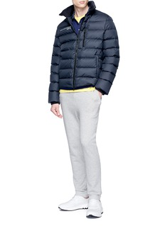 Fendi Sport 'Bag Bugs' print collar polo shirt