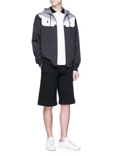 Fendi Sport Bag Bugs眼睛图案条纹纯棉polo衫