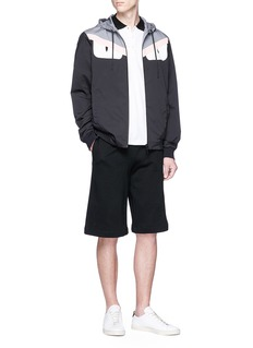Fendi Sport Reversible 'Bag Bugs' appliqué hooded jacket