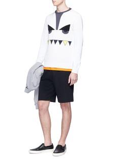 Fendi Sport 'Bag Bugs' print sweat shorts