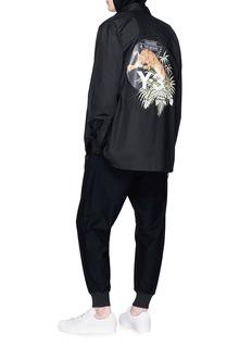 Y-3 猎豹印花品牌标志刺绣衬衫