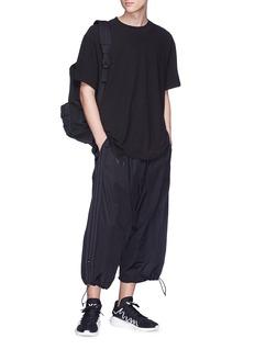 Y-3 Adizero宽松低裆露踝裤