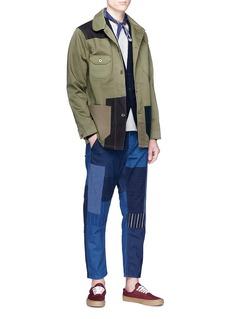FDMTL x Dickies patchwork twill jacket