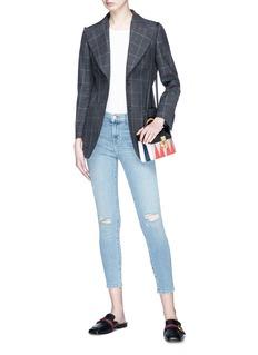 J Brand 'Capri' ripped skinny jeans