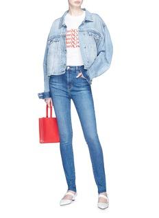 J Brand 'Carolina' high rise skinny jeans