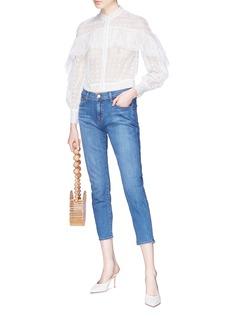 J Brand 'Sadey' cropped straight leg jeans