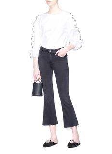 Frame Denim 'Le Crop Mini Boot' cropped flared jeans