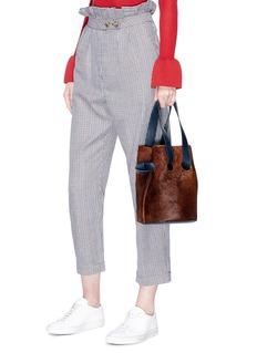 Trademark 'Goodall' calfhair bucket bag