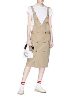 bassike Drill trench dress