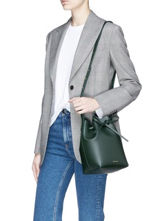Mansur Gavriel 'Mini' leather bucket bag