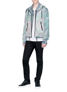 John Elliott Tie-dye hooded jacket